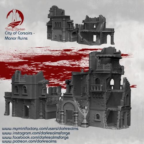 City of Corsairs Manor Ruins