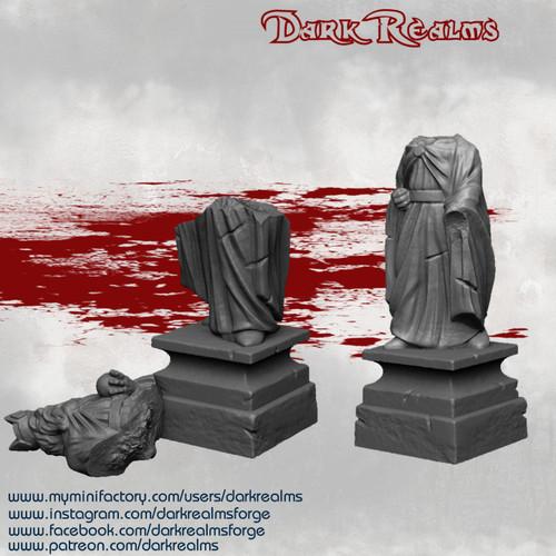 Arkenfel Statues