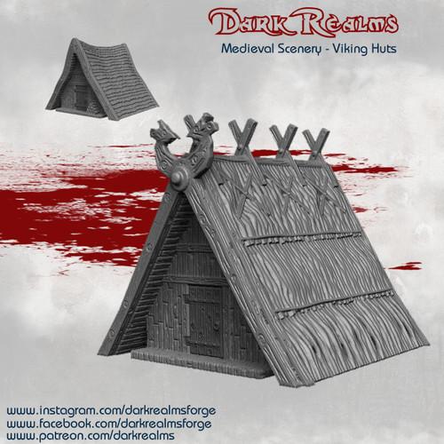 Viking Huts x2