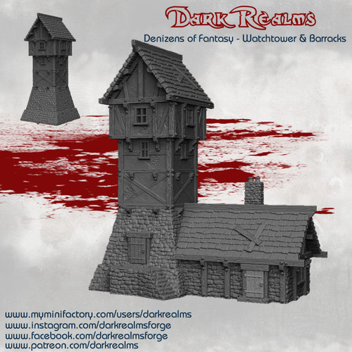 Fantasy Watchtower