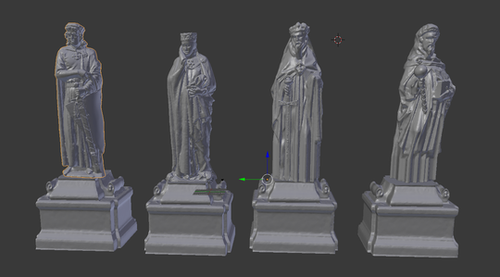 Forgotten Kings and Queens Statues