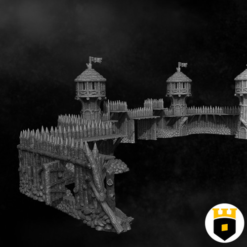 Build Your Own Palisade Walls