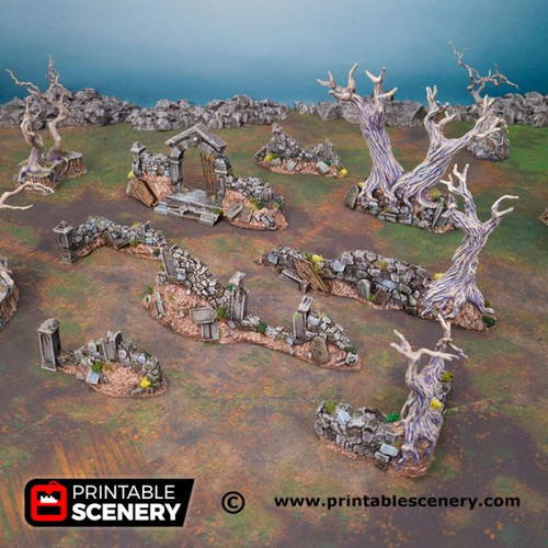Shadowfey - Hallowed Graveyard Walls