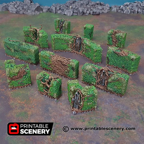 Shadowfey - Hedge Maze (12pcs)