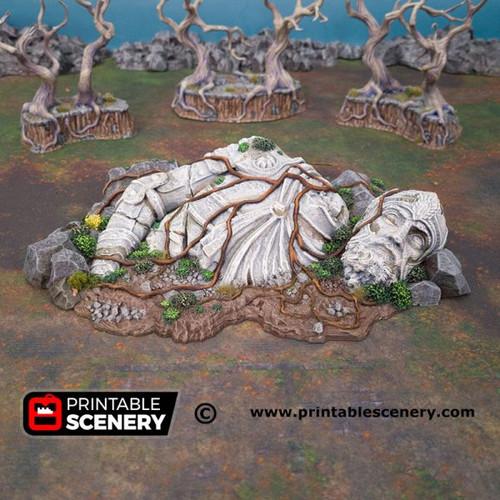 Shadowfey - Giant Statue