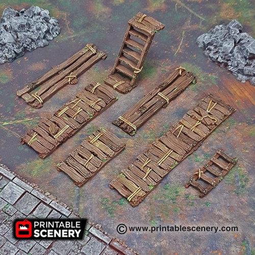 Shadowfey - Gangway Ladder and Stairs (9pcs)