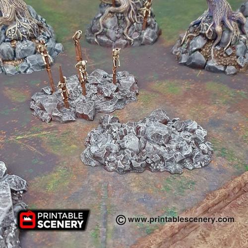 Shadowfey - Jaged Rocks (3pcs)