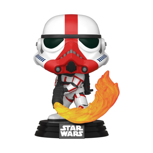 Star Wars The Mandalorian Incinerator Stormtrooper Pop! Vinyl Figure #350