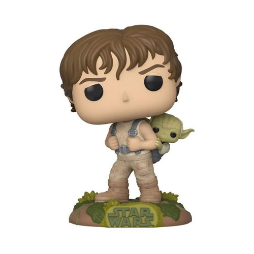 Star Wars The Empire Strikes Back Training Luke Skywalker with Yoda Pop! Vinyl Figure #363