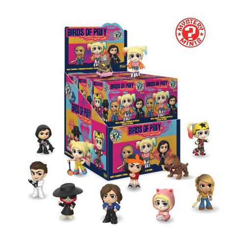 Harley Quinn Birds of Prey DC Mystery Mini Vinyl Figure Blind Box