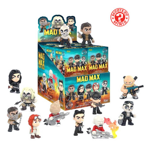 Mad Max: Fury Road Mystery Minis blind boxes