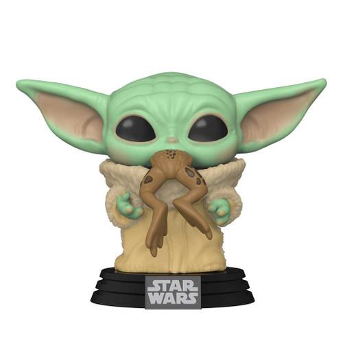 The Child with Frog Pop! Star Wars Mandalorian vinyl figure