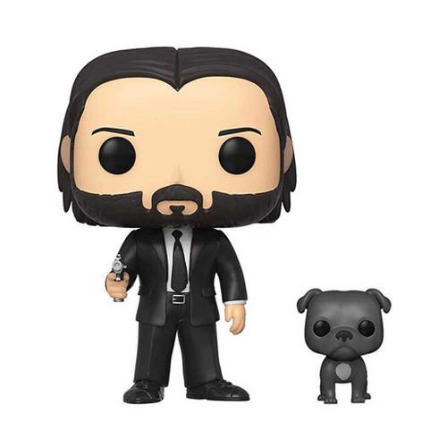 John Wick in Black Suit with Dog Pop! Vinyl Figure & Buddy #580