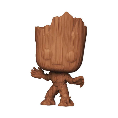 Marvel Guardians of the Galaxy Groot Wood Deco Pop! Vinyl Figure #622