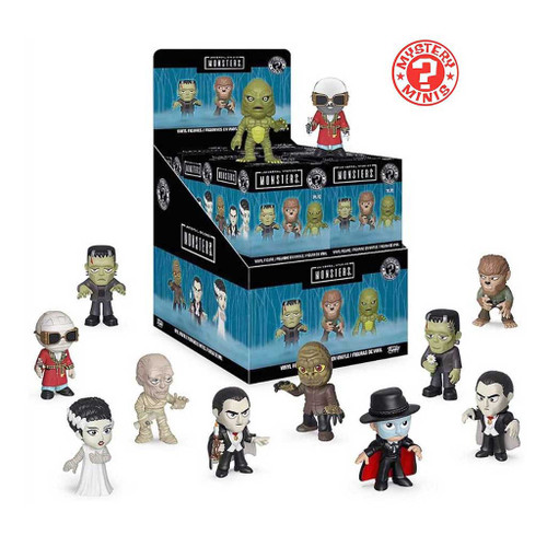 Universal Studios Monsters mystery minis series