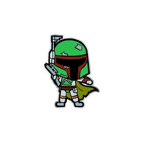 Star Wars Classic Boba Fett Chibi Enamel Pin