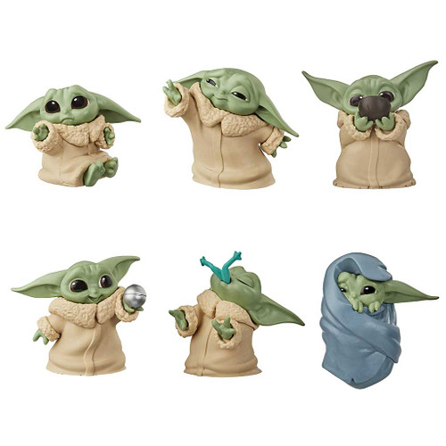 Star Wars The Mandalorian Baby Bounties Collector Set Wave 1