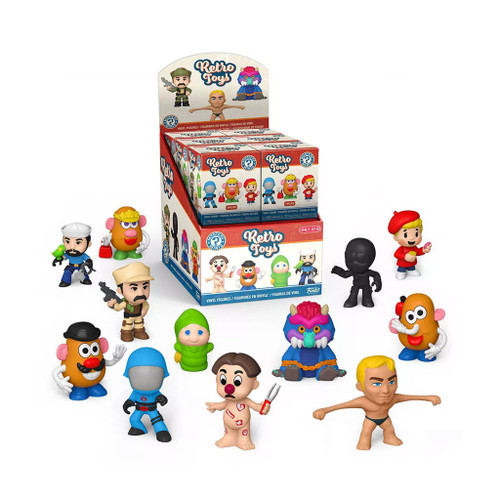 Hasbro Retro Toys Mystery Mini Vinyl Figure Blind Box