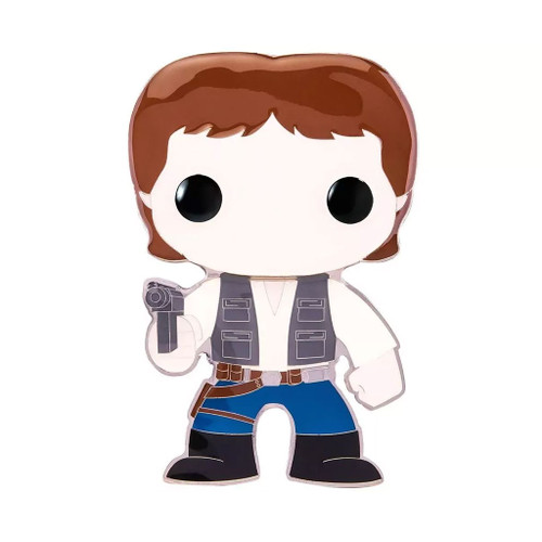 Star Wars Han Solo Large Enamel Pop! Pin #03
