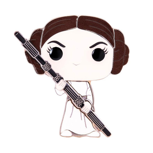 Star Wars Princess Leia Large Enamel Pop! Pin #01