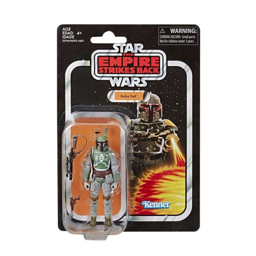 Star Wars The Vintage Collection Boba Fett Empire Strikes Back Action Figure with Card