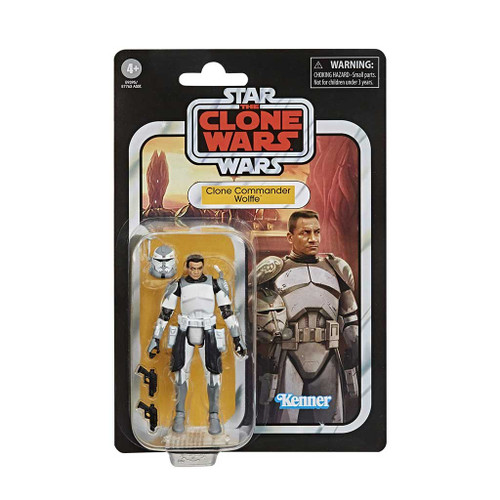 Star Wars The Vintage Collection Clone Commander Wolffe Clone Wars Action Figure