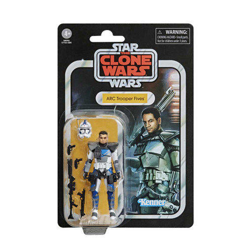 Star Wars The Vintage Collection ARC Trooper Fives Clone Wars Action Figure