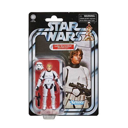 Star Wars The Vintage Collection Luke Skywalker Stormtrooper Disguise Action Figure with card