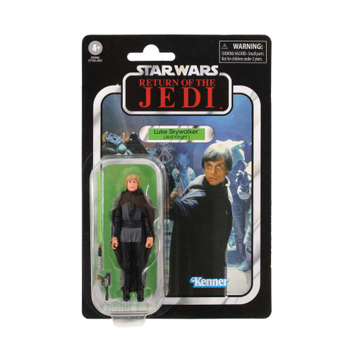Star Wars The Vintage Collection Luke Skywalker Jedi Knight Action Figure card back