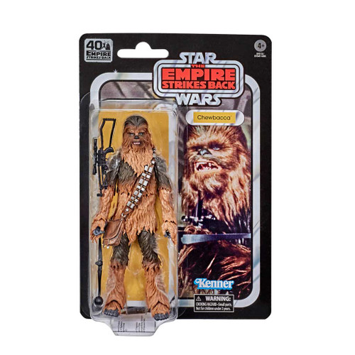 Star Wars The Black Series Chewbacca Empire Strikes Back 40th Anniversary 6-Inch Action Figure