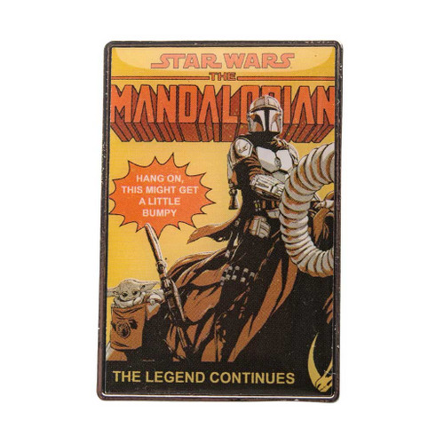 Star Wars The Mandalorian The Legend Continues Enamel Pin