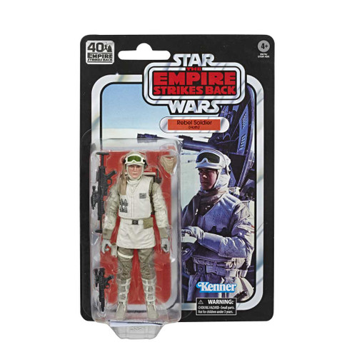 Star Wars The Black Series Rebel Hoth Empire Strikes Back 40th Anniversary 6-Inch Action Figure card