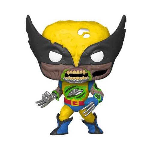 Marvel Zombies Wolverine Glow-in-the-Dark Exclusive Pop! Vinyl Figure #662