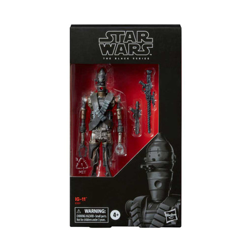 Star Wars The Black Series IG-11 Action Figure  6-Inch Action Figure