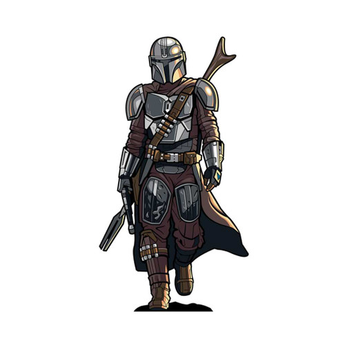 The Star Wars The Mandalorian FiGPiN XL Enamel Pin Kinpin #X60 Din