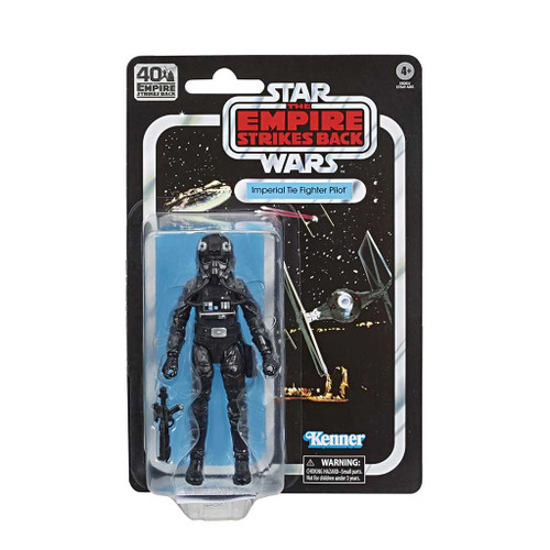Star Wars The Black Series Imperial Tie Fighter Pilot Empire Strikes Back 40th Anniversary 6-Inch Action Figure-