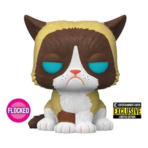 Grumpy Cat Flocked Exclusive Pop! Vinyl Figure #60