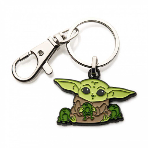 Star Wars The Mandalorian The Child With Frogs Time Keychain
