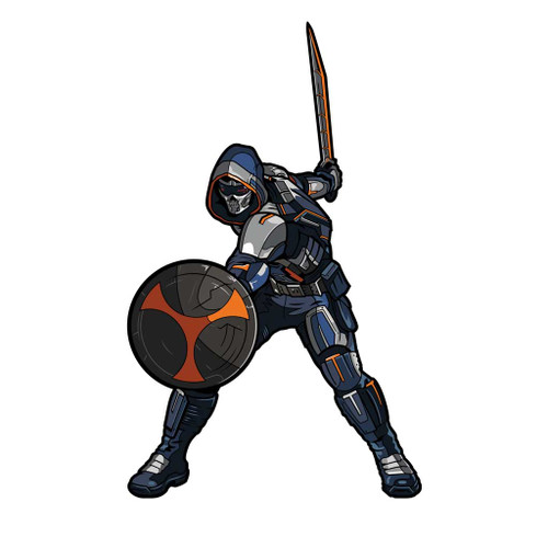 Black Widow Movie Taskmaster FiGPiN Enamel Pin #402