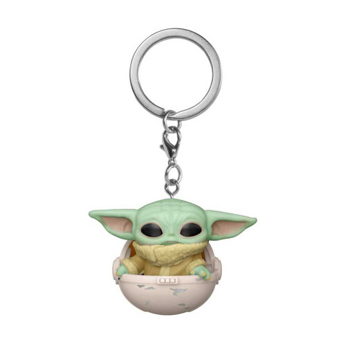 Star Wars The Mandalorian The Child in Pod Pocket Pop! Keychain