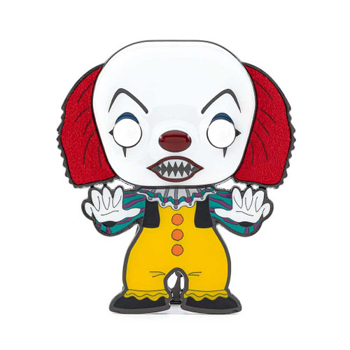 It The Movie Pennywise 1990 Horror Large Enamel Pop! Pin #01