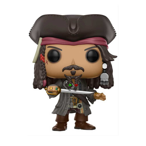 Pirates of the Caribbean: Dead Men Tell No Tales Jack Sparrow Pop! Vinyl Figure #273