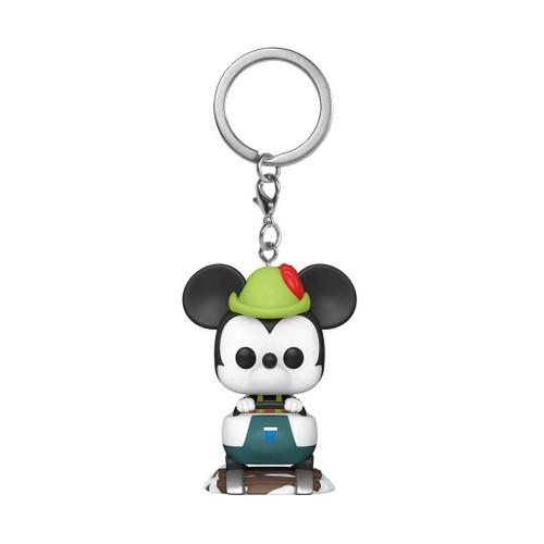 Disneyland 65th Anniversary Mickey Mouse with Matterhorn Pocket Pop! Keychain