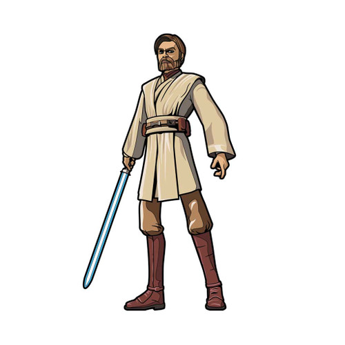 Star Wars Clone Wars Obi-Wan Kenobi FiGPiN Enamel Pin #517