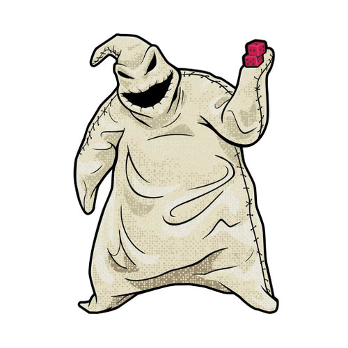 Nightmare Before Christmas Oogie Boogie FiGPiN Enamel Pin #259