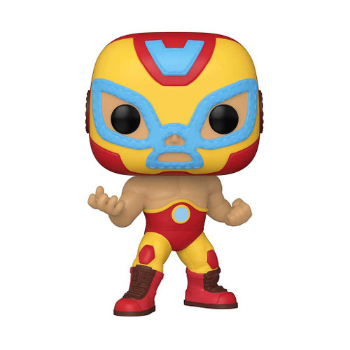 Marvel Luchadores El Heroe Iron Man Pop! Vinyl Figure #709
