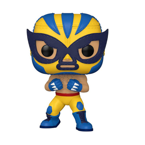 Marvel Luchadores El Animal Indestructible Wolverine Pop! Vinyl Figure #711