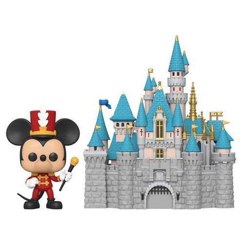 Disneyland 65th Anniversary Sleeping Beauty Castle with Mickey Vinyl Figure #21