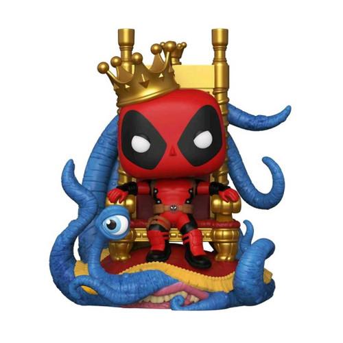 Marvel Heroes King Deadpool on Throne Deluxe Pop! Vinyl Figure #724