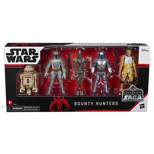 Star Wars Celebrate the Saga Bounty Hunters Action Figure 5-Pack Set
